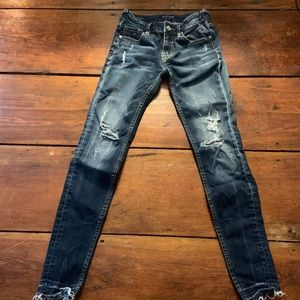 Vigoss jeans jagger skinny distressed